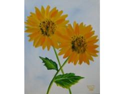 The Girls Sunflowers