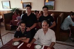 CATALINA KULCZAR - The Giuliano family in their Italian restaurant Mio Posto