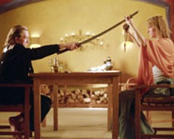 THE GOOD, THE BAD AND THE UGLY Uma - Thurman and David Carradine in Kill Bill Vol. 2; -  -