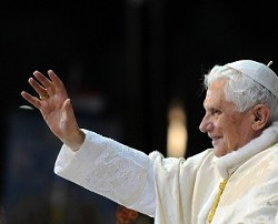 "The ""Green"" Pope Benedict XVI in 2010 (Photo credit: Catholic Church England and Wales)"