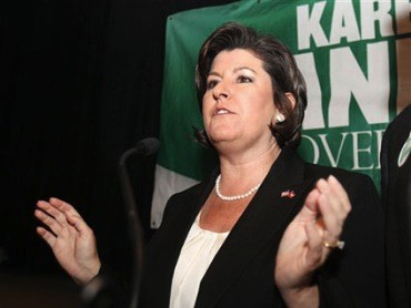 The heinous Karen Handel