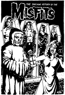 THE HORROR OF PUNK The Misfits