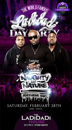 The Ladidadi Day Party!!! Naughty By Nature, MC Lyte, DJ Kool, and More!!!