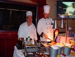 JARED NEUMARK - The Men's Club serves up tasty, er, food.
