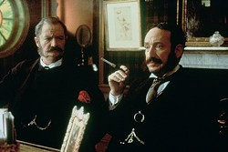 COURTESY OF THE CRITERION COLLECTION - THE MUSIC MEN: Jim Broadbent and Allan Corduner in Topsy-Turvy