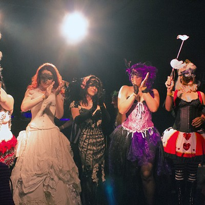 The Mystics' Ball: A Masquerade at Chop Shop, 9/5/2014
