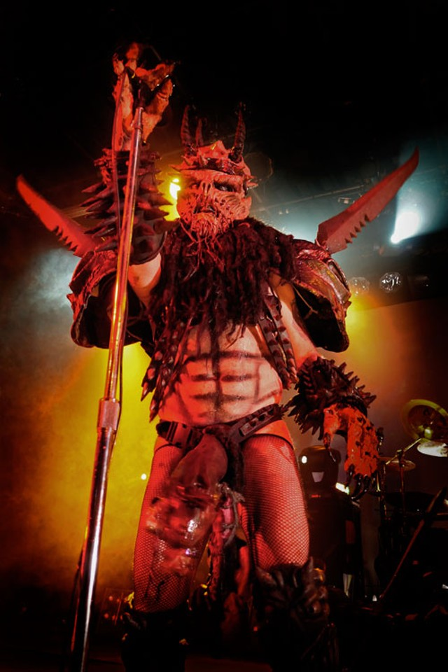 Gwar busted in Charlotte | 25th Anniversary Issue | Creative