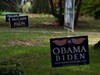 <p>THE OTHER SIDE OF THE GRASS: Neighbors bridge the partisan divide</p>