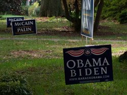 KAREN SHUGART - THE OTHER SIDE OF THE GRASS: Neighbors bridge the partisan divide