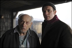 SUMMIT ENTERTAINMENT - THE PLOT THICKENS: Eli Wallach and Ewan McGregor in The Ghost Writer