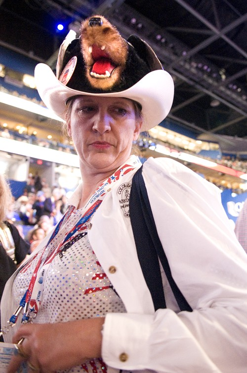 The RNC might not want much public involvement, but it sure does like funny hats.