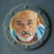 THE SEA INSIDE: Bill Murray gets watery in The Life Aquatic With Steve Zissou - PHILIPPE ANTONELLO/TOUCHSTONE