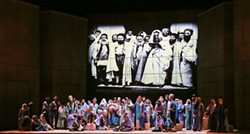 JON SILLA - The set of Opera Carolina's Nabucco