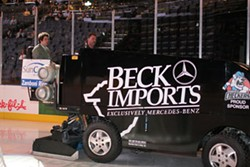 RON DESHAIES - The Slickest Ride in Town: The Urban Exlorer with Checkers Zamboni driver Scott Honeycutt
