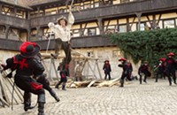 Friday Film Reviews: <em>The Three Musketeers; Johnny English Reborn</em>