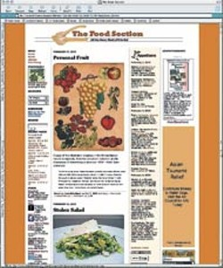NONE - The web page for The Food Section (www.thefoods - ection.com)