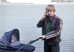 THEY CALL ME BABY DRIVER: Bruno (Jeremie Renier) speeds through an illegal transaction in L'Enfant (Photo: Sony Pictures Classics)