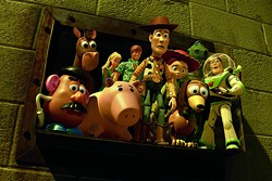 DISNEY/PIXAR - THINGS ARE LOOKING DOWN: Our heroes find themselves in a predicament in Toy Story 3.