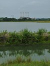 <p>This is one of the two unlined, high-hazard coal-ash ponds behind Duke Energy's Riverbend plant. It's 80-feet deep, encompasses 41 acres and can fit 200 tennis courts on its surface. Charlotte-Mecklenburg Utilities withdraws 80 percent of the city's drinking water just downstream.</p>