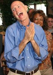 This is the governor of Florida. No, were not kidding.