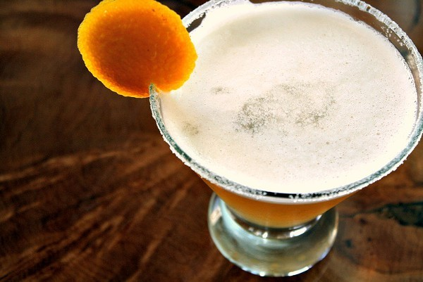 This slightly tart and sweet cocktail goes down easy.