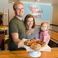 Three questions with Courtney Buckley of Your Mom's Donuts