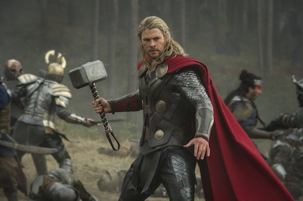 THUNDERSTRUCK: Thor (Chris Hemsworth) prepares for battle in Thor: The Dark World. (Photo: Disney & Marvel)