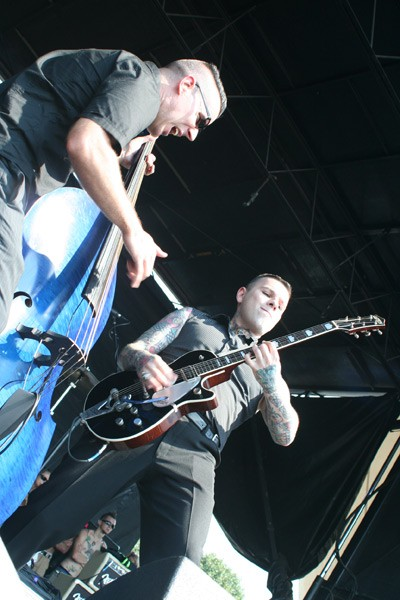 Tiger Army (Vans Warped Tour, Verizon Wireless Amphitheatre, July 23)