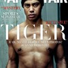 Tiger Woods looks more black on Vanity Fair cover