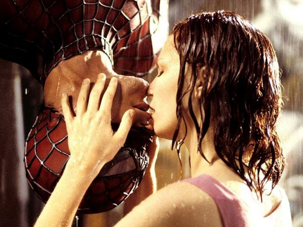Tobey Maguire and Kirsten Dunst in Spider-Man (Photo: Sony)