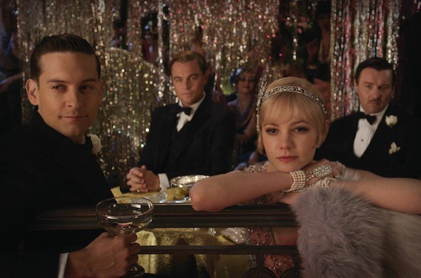 Tobey Maguire, Leonardo DiCaprio, Carey Mulligan and Joel Edgerton in The Great Gatsby (Photo: Warner Bros.)