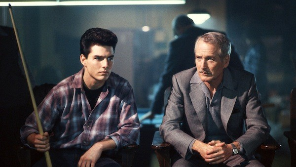 Tom Cruise and Paul Newman in The Color of Money (Photo: Disney)