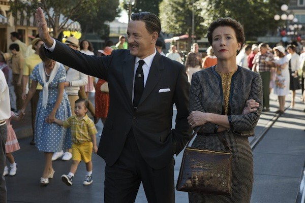 Tom Hanks and Emma Thompson in Saving Mr. Banks (Photo: Disney)