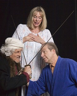 DAVID BIRLEY - Tom Scott, Bogey Wingfield and John Xenakis in Rembrandt's Gift
