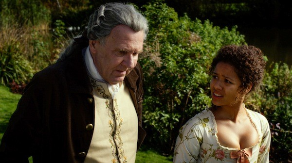 Tom Wilkinson and Gugu Mbatha-Raw in Belle. (Photo: Fox Searchlight)