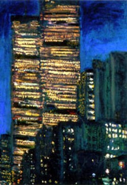 TWIN TOWERS by Joseph Greenberg