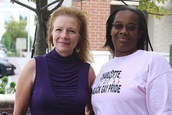 JASIATIC - TWO-GETHER: Pride organizers Denise Palm-Beck (left) and Jahaan Norvell