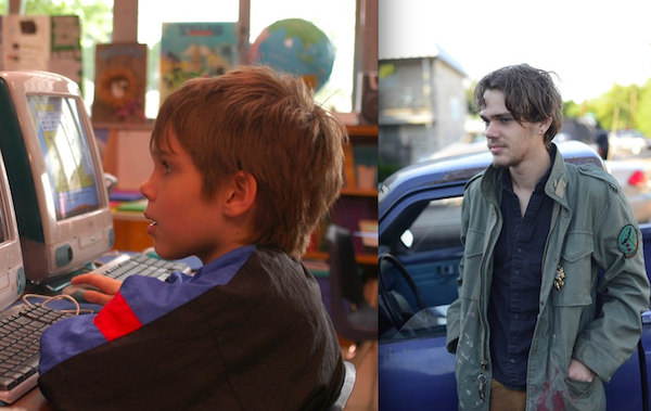 Two views of Ellar Coltrane as Mason in Boyhood (Photo: IFC Films)