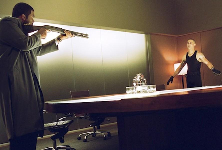 Tyler Perry and Matthew Fox in Alex Cross (Photo: Summit)