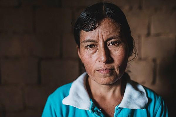 Peruvian coffee farmer Rosa Lloclla. (Photo by Nahun Rodriguez)