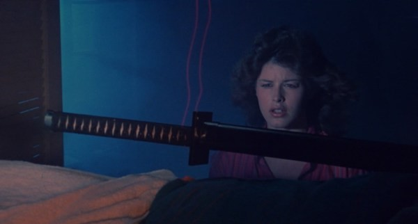 Lucinda Dickey in Ninja III: The Domination (Photo: Shout! Factory & MGM)