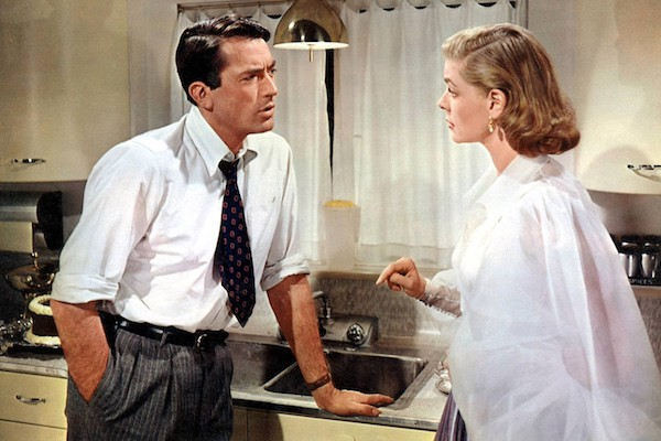 Gregory Peck and Lauren Bacall in Designing Woman (Photo: Warner)