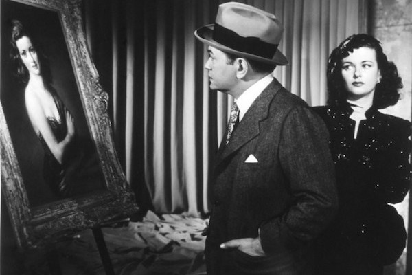 Edward G. Robinson and Joan Bennett in The Woman in the Window (Photo: Kino & MGM)