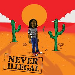 'Never Illegal' album cover.