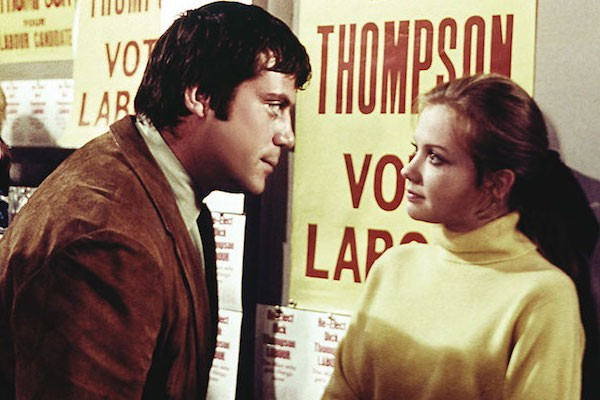 Oliver Reed and Hayley Mills in Take a Girl Like You (Photo: Twilight Time)