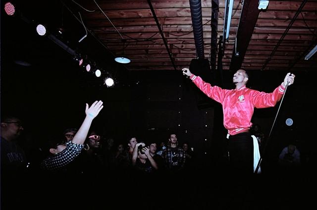 Raleigh rapper Ace Henderson, shot by Tre Bravo