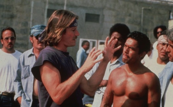 Peter Strauss (left) in The Jericho Mile (Photo: Kino)