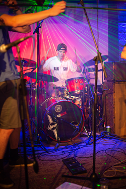 Buckley's got the beat. (Photo by Darnell Sanders)
