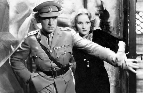 Clive Brook and Marlene Dietrich in Shanghai Express (Photo: Criterion)