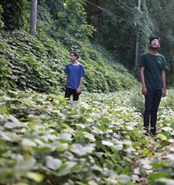 Turner (left) and Ruiz (Photo by Sarah Smith)
